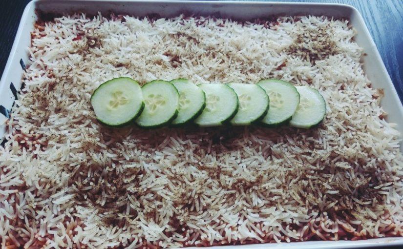 Kylling med ris i form